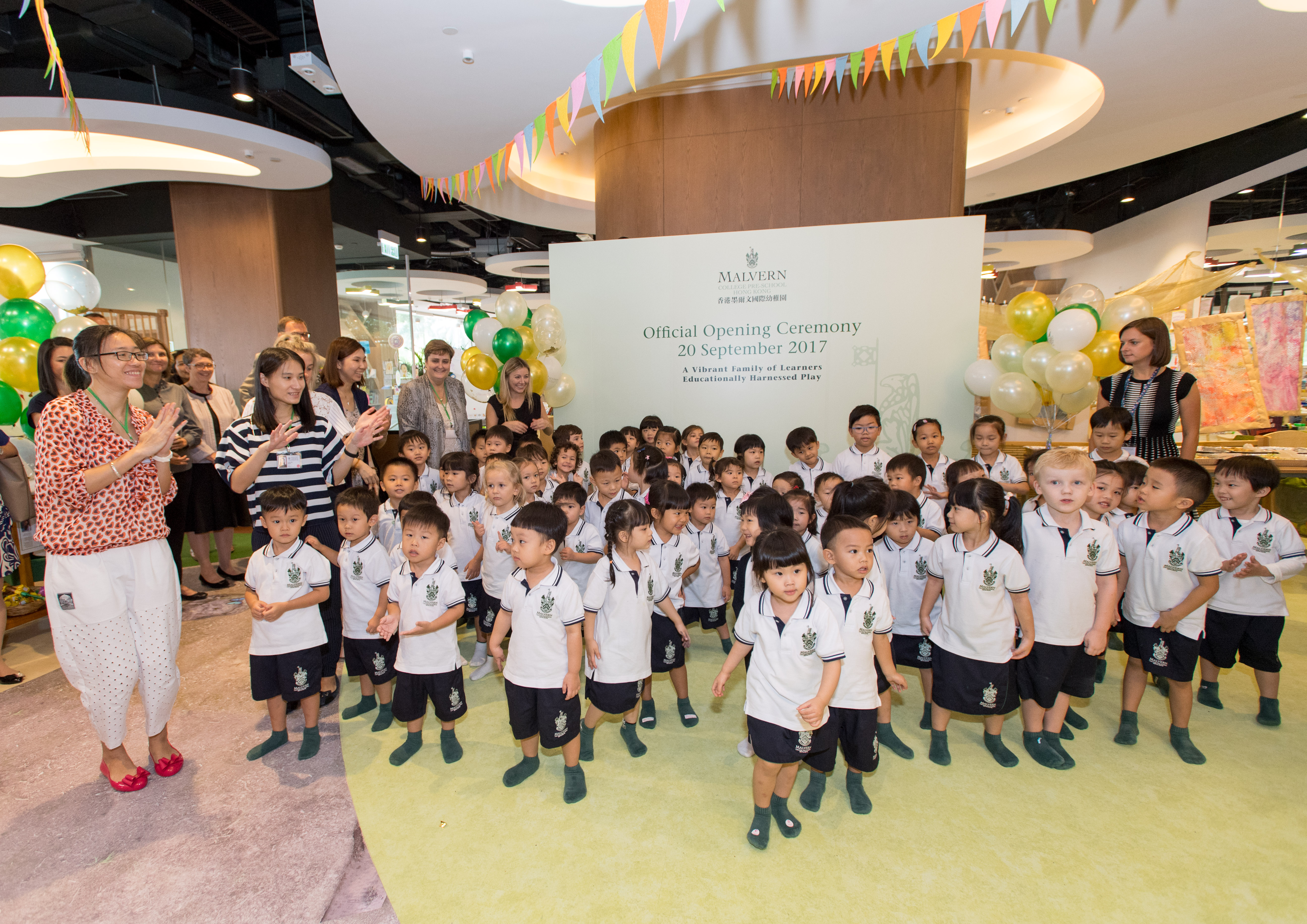 Official Opening Ceremony of Malvern College Pre-School